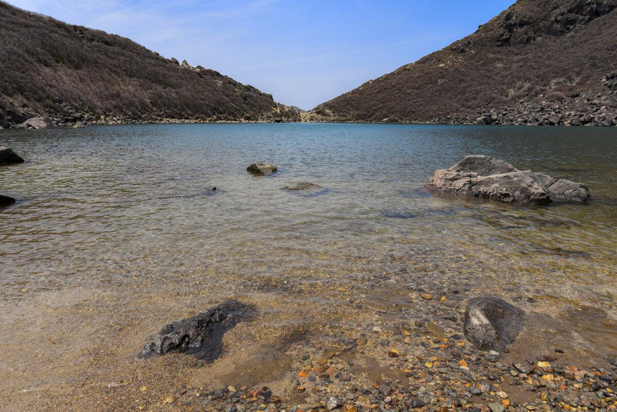 大分県の久住山御池の画像