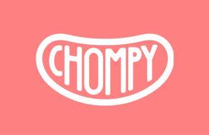 chompyの公式ロゴの画像