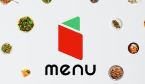 menuの公式ロゴの画像