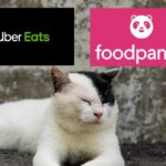 Uber Eats(ウーバーイーツ)とfoodpanda(フードパンダ)を比較する画像