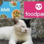 Wolt(ウォルト)とfoodpanda(フードパンダ)を比較する画像