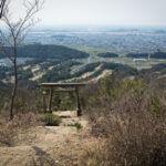 岐阜県権現山頂上からの風景