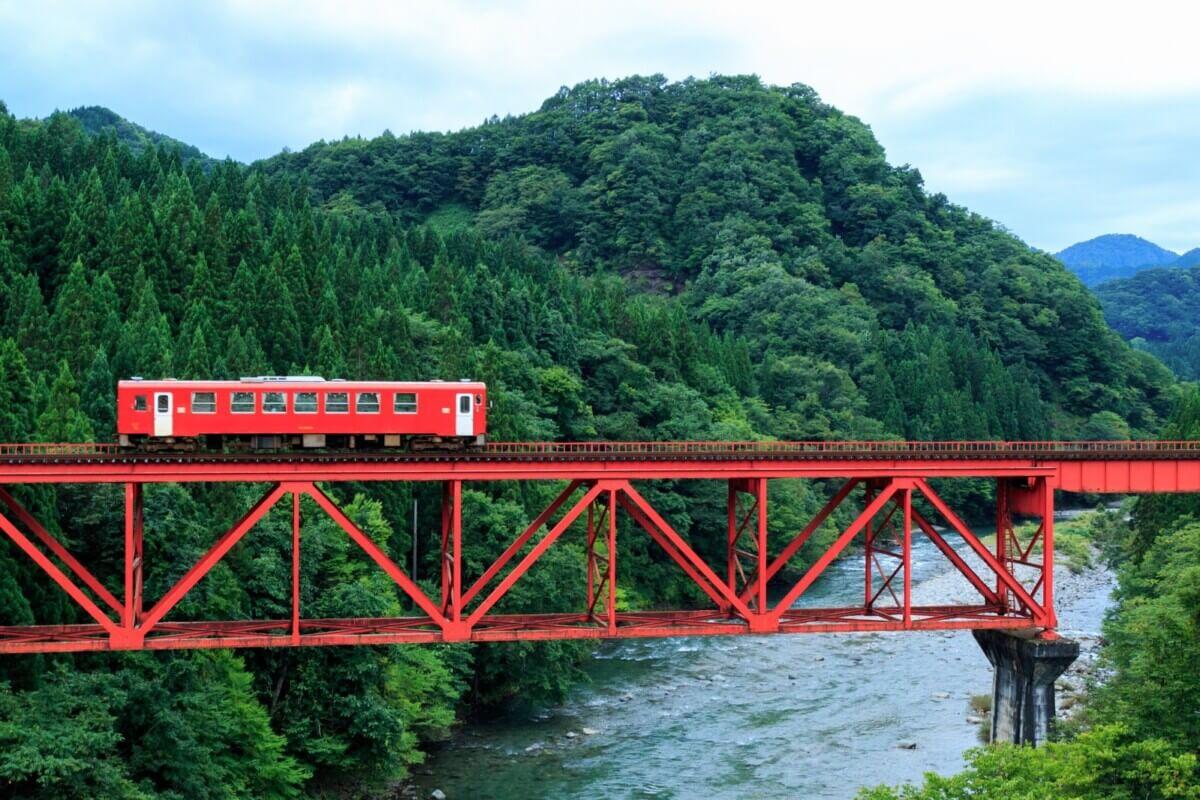 秋田県の鉄道の画像