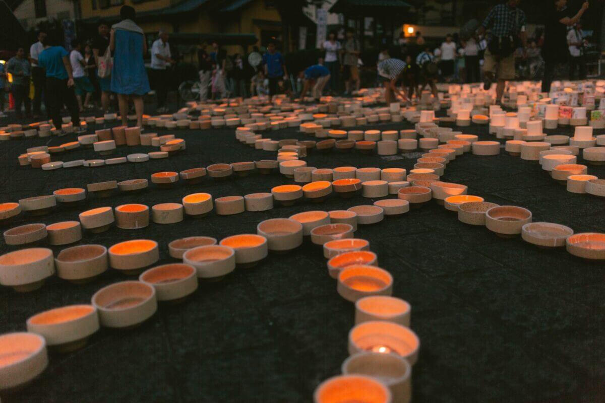 佐賀県のボシ灯ろうまつりの画像